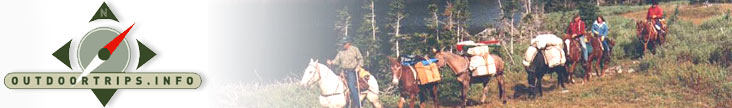 Explore The CONTINENTAL DIVIDE by Horseback - Horse Packing Vacation
